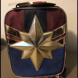 Captain Marvel Lunch Bag New
